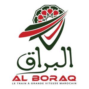 Al boraq logo-شعار البراق-TGV-القطار الفائق السرعة المغربي